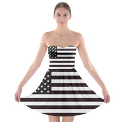 Usa6 Strapless Bra Top Dress