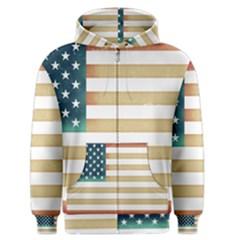 Usa7 Men s Zipper Hoodies