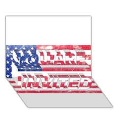 Usa8 YOU ARE INVITED 3D Greeting Card (7x5)