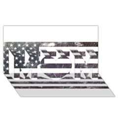 Usa9 MOM 3D Greeting Card (8x4)