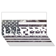 Usa9 BEST BRO 3D Greeting Card (8x4)