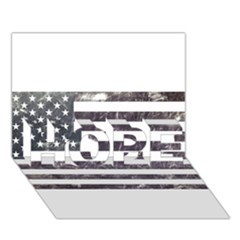 Usa9 Hope 3d Greeting Card (7x5)