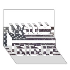 Usa9 You Did It 3D Greeting Card (7x5)