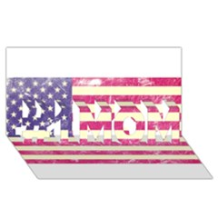 Usa99 #1 Mom 3d Greeting Cards (8x4)