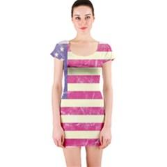 Usa99 Short Sleeve Bodycon Dresses