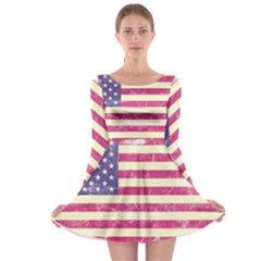 Usa99 Long Sleeve Skater Dress