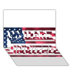 Usa9999 YOU ARE INVITED 3D Greeting Card (7x5)
