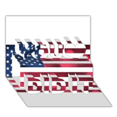 Usa9999 You Did It 3D Greeting Card (7x5)