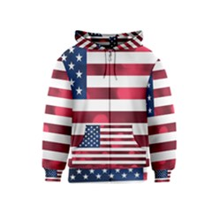 Usa9999 Kids Zipper Hoodies