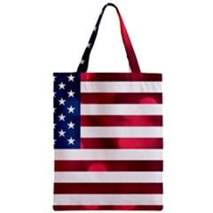 Usa9999 Zipper Classic Tote Bags