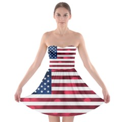 Usa9999 Strapless Bra Top Dress