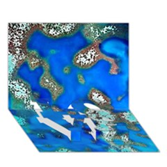 Cocos Reef Sinkholes Love Bottom 3d Greeting Card (7x5)