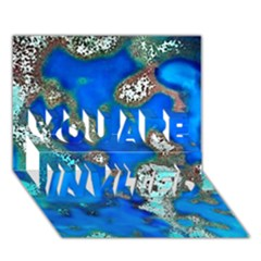 Cocos Reef Sinkholes YOU ARE INVITED 3D Greeting Card (7x5)
