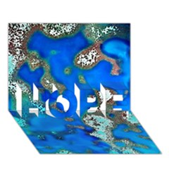 Cocos Reef Sinkholes HOPE 3D Greeting Card (7x5)