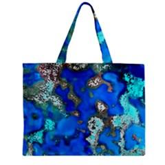 Cocos Reef Sinkholes Tiny Tote Bags