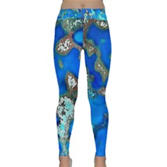 Cocos Reef Sinkholes Yoga Leggings