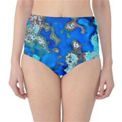 Cocos Reef Sinkholes High-Waist Bikini Bottoms