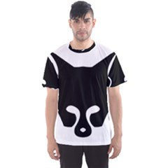 Black Fox Logo Men s Sport Mesh Tees