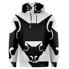 Black Fox Logo Men s Pullover Hoodies