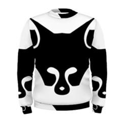 Black Fox Logo Men s Sweatshirts