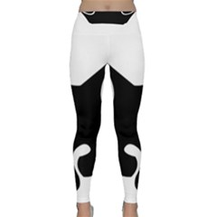 Black Fox Logo Yoga Leggings