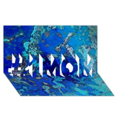 Cocos Blue Lagoon #1 Mom 3d Greeting Cards (8x4)
