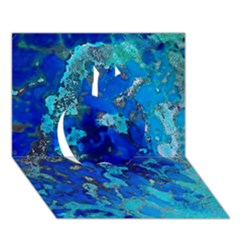 Cocos Blue Lagoon Apple 3d Greeting Card (7x5)