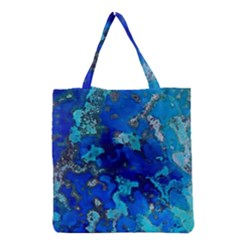 Cocos blue lagoon Grocery Tote Bags