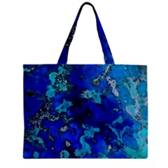 Cocos Blue Lagoon Zipper Tiny Tote Bags