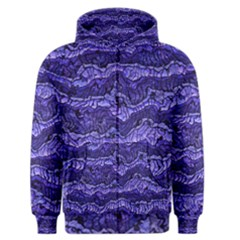 Alien Skin Blue Men s Zipper Hoodies