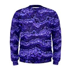 Alien Skin Blue Men s Sweatshirts
