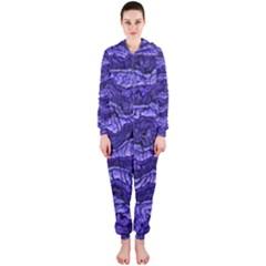 Alien Skin Blue Hooded Jumpsuit (Ladies)