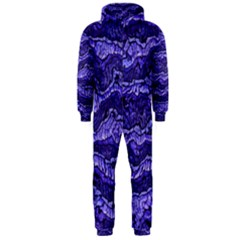 Alien Skin Blue Hooded Jumpsuit (men)