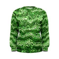Alien Skin Green Women s Sweatshirts