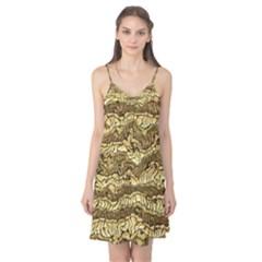 Alien Skin Hot Golden Camis Nightgown
