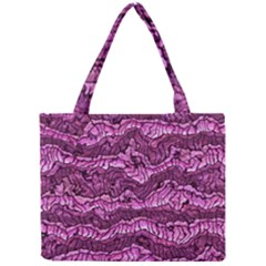 Alien Skin Hot Pink Tiny Tote Bags