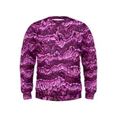Alien Skin Hot Pink Boys  Sweatshirts