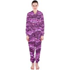 Alien Skin Hot Pink Hooded Jumpsuit (ladies)
