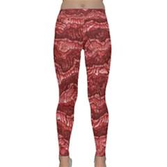 Alien Skin Red Yoga Leggings