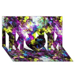 Colour Splash G264 MOM 3D Greeting Card (8x4)