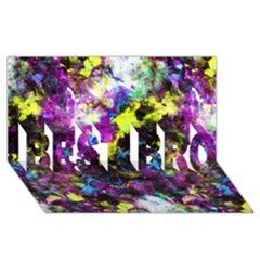 Colour Splash G264 BEST BRO 3D Greeting Card (8x4)