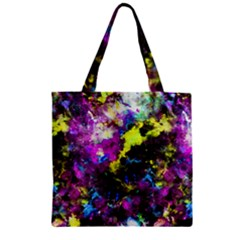 Colour Splash G264 Zipper Grocery Tote Bags