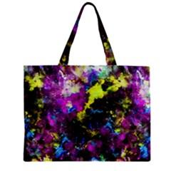 Colour Splash G264 Zipper Tiny Tote Bags