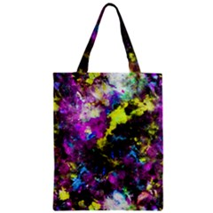 Colour Splash G264 Zipper Classic Tote Bags