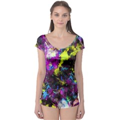 Colour Splash G264 Short Sleeve Leotard