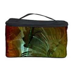 Beautiful Abstract Floral Design Cosmetic Storage Cases