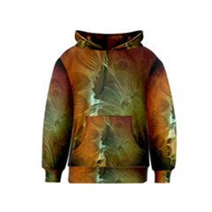 Beautiful Abstract Floral Design Kid s Pullover Hoodies