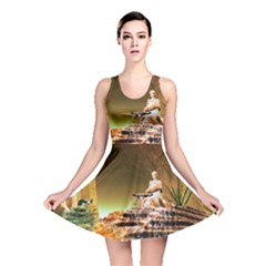 Wonderful Undergraund World Reversible Skater Dresses