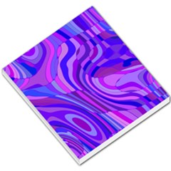 Retro Abstract Blue Pink Small Memo Pads