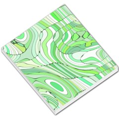 Retro Abstract Green Small Memo Pads
